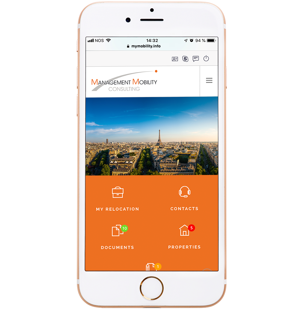 Relocation Web App